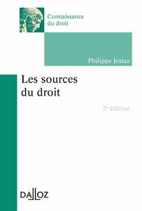 Les sources du droit La couverture du livre martien
