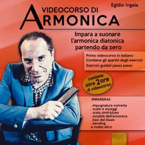 Videocorso di armonica Libro Cover
