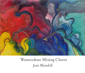 Watercolour Mixing Charts Cover Book