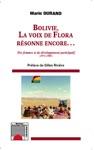 Bolivie La Voix De Flora Rsonne Encore