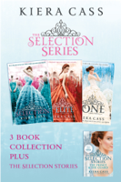 Kiera Cass - The Selection series 1-3 (The Selection; The Elite; The One) plus The Guard and The Prince artwork