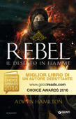 Rebel. Il deserto in fiamme Book Cover