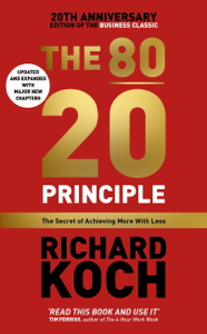 The 80/20 Principle Cover Book