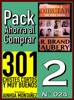 Pack Ahorra al Comprar 2 (Nº 024): 301 Chistes Cortos y Muy Buenos & Enseña a dibujar en una hora