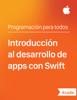 Apple Education - IntroducciГіn al desarrollo de apps con Swift ilustraciГіn