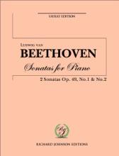 Beethoven 2 Sonatas  Op.49 No.1, 2