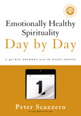 Emotionally Healthy Spirituality Day by Day Book Cover