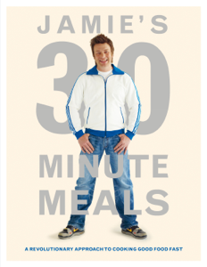 Jamie's 30-Minute Meals Book Cover