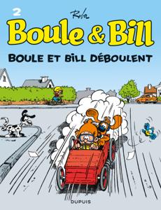 Boule et Bill - Tome 2 - Boule et Bill déboulent La couverture du livre martien