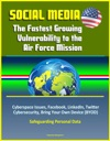 Social Media The Fastest Growing Vulnerability To The Air Force Mission - Cyberspace Issues Facebook LinkedIn Twitter Cybersecurity Bring Your Own Device BYOD Safeguarding Personal Data
