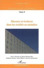 Discours Et écritures Dans Les Sociétés En Mutation