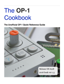 The OP-1 Cookbook