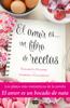 Elisabetta Flumeri - El amor es... un libro de recetas ilustración