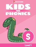 Learn Phonics: S - Kids vs Phonics (iPhone Version)