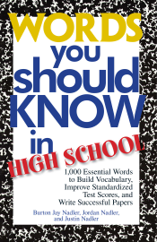 Words You Should Know In High School book