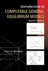 Introduction To Computable General Equilibrium Models Second Edition