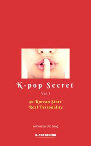 40 Korean Stars' Real Personality Libro Cover