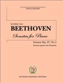 Download and Read Online Beethoven Piano Sonata No 13 op 27 no 1