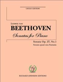 Beethoven Piano Sonata  No 13 op 27 no 1