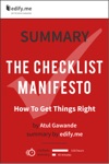 Summary The Checklist Manifesto By Atul Gawande