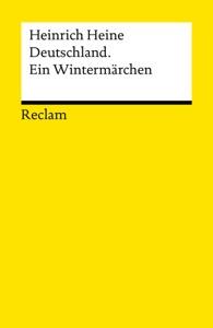 Deutschland. Ein Wintermärchen par Heinrich Heine & Werner Bellmann Couverture de livre
