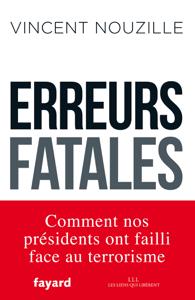 Erreurs fatales La couverture du livre martien