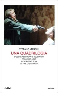 Una quadrilogia da Stefano Massini Copertina del libro