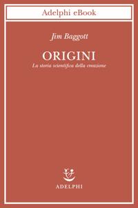 Origini Copertina del libro
