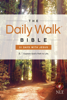 Walk Thru the Bible - The Daily Walk Bible NLT: 31 Days with Jesus  artwork