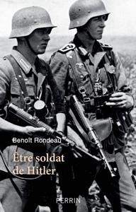 Etre soldat de Hitler La couverture du livre martien