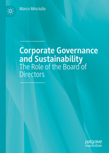 Corporate Governance and Sustainability Copertina del libro