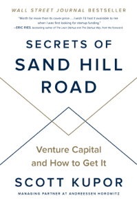 Secrets of Sand Hill Road La couverture du livre martien