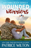 Patrice Wilton - Wounded Warrior - 3 book set  artwork