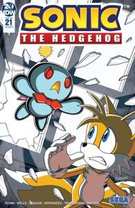 Sonic the Hedgehog #21 par Ian Flynn & Tracy Yardley Couverture de livre