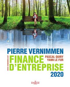 Finance d'entreprise 2020 La couverture du livre martien