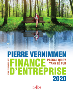Finance d'entreprise 2020 Libro Cover