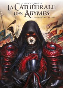 La Cathédrale des Abymes T03 La couverture du livre martien