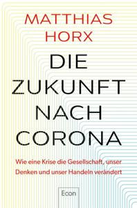 Die Zukunft nach Corona Copertina del libro