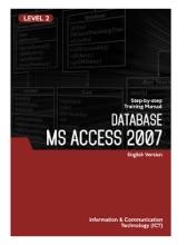Microsoft Access 2007 Level 2