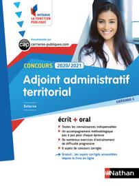 Adjoint administratif territorial - Catégorie C - 2020/2021 - Intégrer la fonction publique