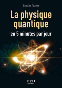 Petit livre - La physique quantique en 5 minutes par jour Couverture de livre