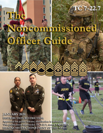 Training Circular TC 7-22.7 The Noncommissioned Officer Guide January 2020