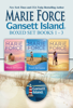 Marie Force - Gansett Island Boxed Set Books 1-3  artwork