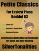 Petite Classics For Easiest Piano Booklet Q3 – Canon In D Gertrude's Dream Waltz Habanera Carmen Letter Names Embedded In Noteheads For Quick And Easy Reading