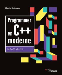 Programmer en C++ moderne Couverture de livre