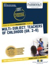 Multi-Subject Teachers Of Childhood Gr 26