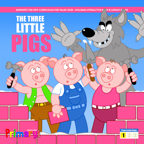 The Three Little Pigs (Includes Symbol Support)