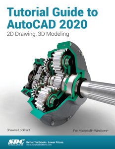 Tutorial Guide to AutoCAD 2020 Book Cover
