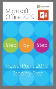 PowerPoint 2019 Step by Step Book Cover