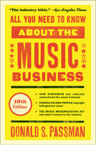 All You Need to Know About the Music Business Couverture de livre